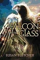Falcon in the glass