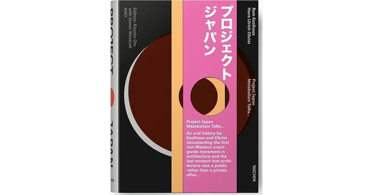 Project japan metabolism talks by rem koolhaas fandeluxe PDF