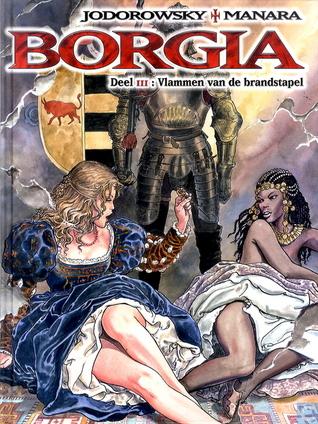 Vlammen van de brandstapel (Borgia, #3)