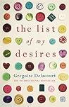 The List of My Desires by Grégoire Delacourt