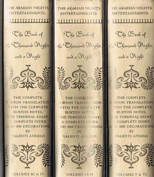 The Book of the Thousand Nights and a Night: the complete Burton Translation with the Complete Burton Notes, the Terminal Index, Volumes 3 & 4, within Volume 2 of 3