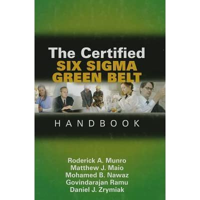 The Certified Six Sigma Black Belt Handbook Pdf