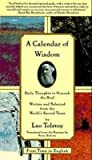 A Calendar of Wisdom: Daily Thoughts to Nourish the Soul