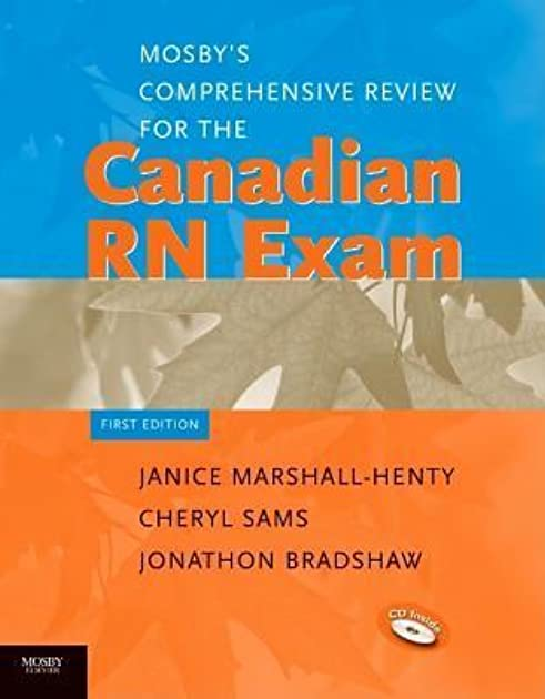 mosby s comprehensive review for the canadian rn exam by janice rh goodreads com Mosby's Nursing Skills Mosby's Physical Examination