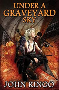 Under a Graveyard Sky (Black Tide Rising, #1)