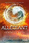 Book cover for Allegiant (Divergent, #3)