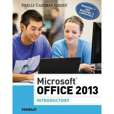 Microsoft office 2013 introductory by misty e vermaat fandeluxe Choice Image