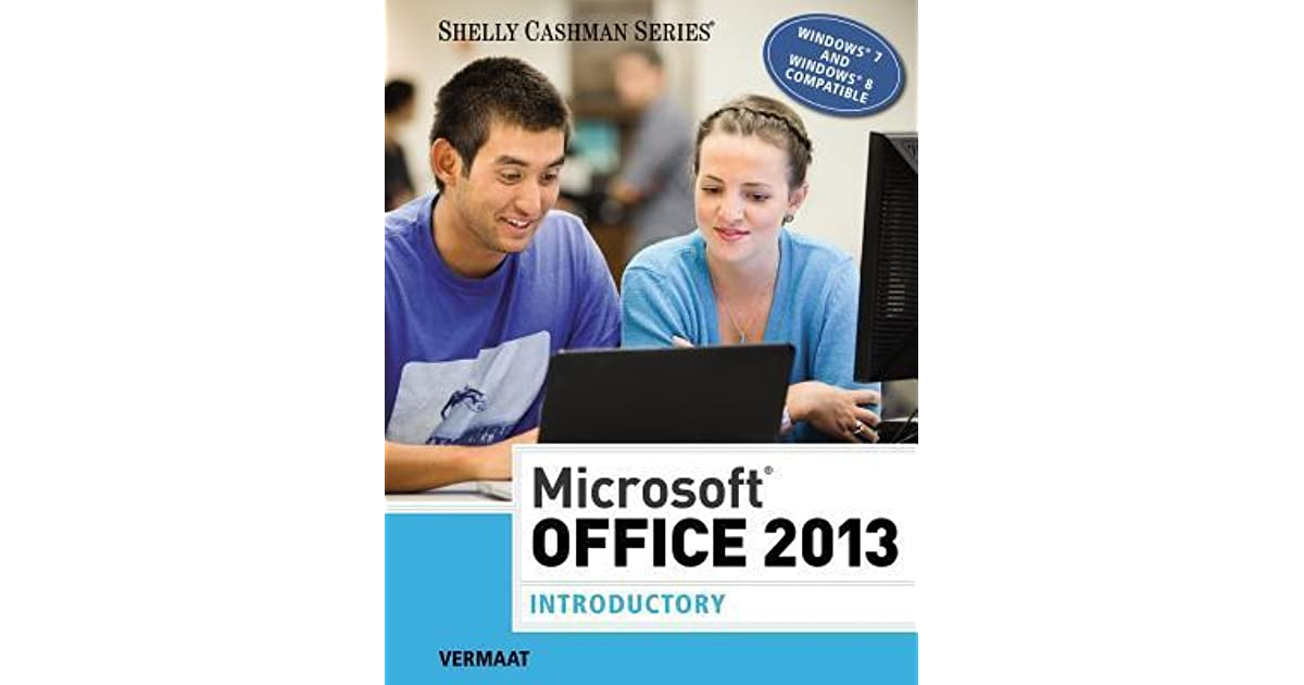 Microsoft office 2013 introductory by misty e vermaat fandeluxe Gallery