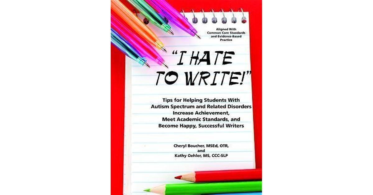 i hate academic writing
