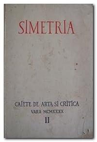 Caiete de arta si Critica - Vara MCMXXXX nr. II