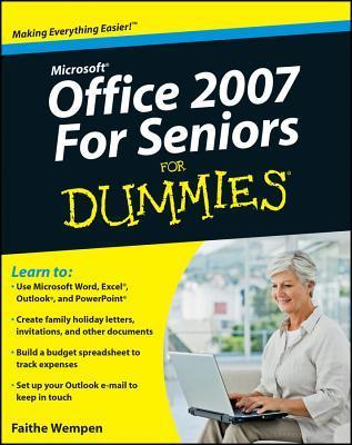 Microsoft Office 2007 for Seniors for Dummies (ISBN - 0470497254)