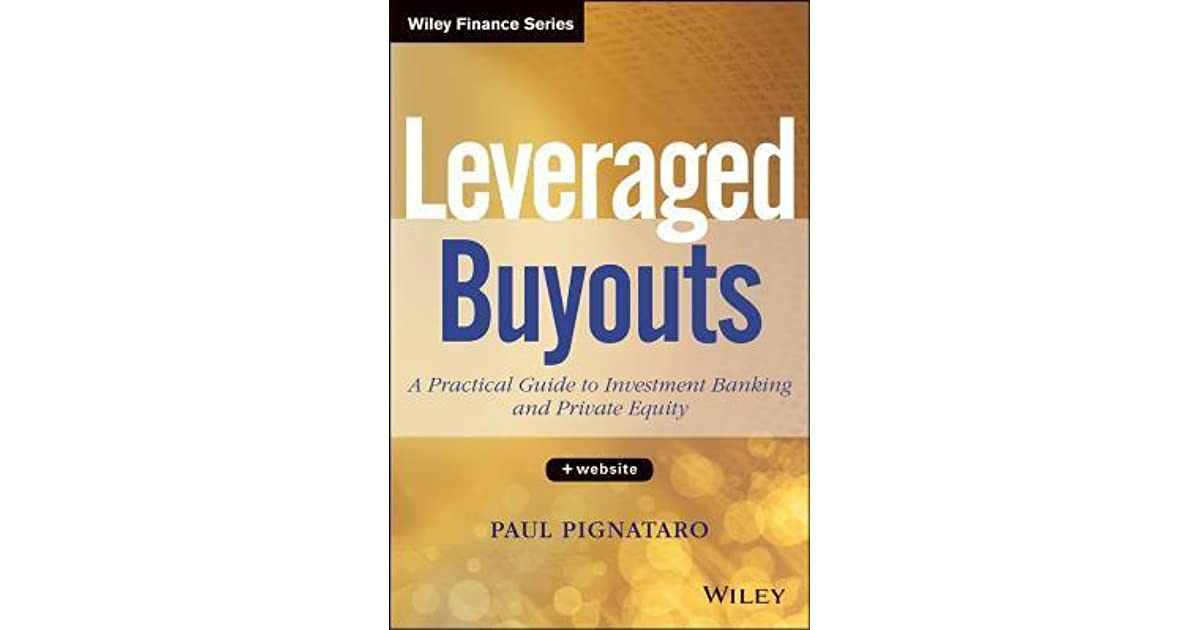Download PDF Leveraged Buyouts: A Practical Introductory