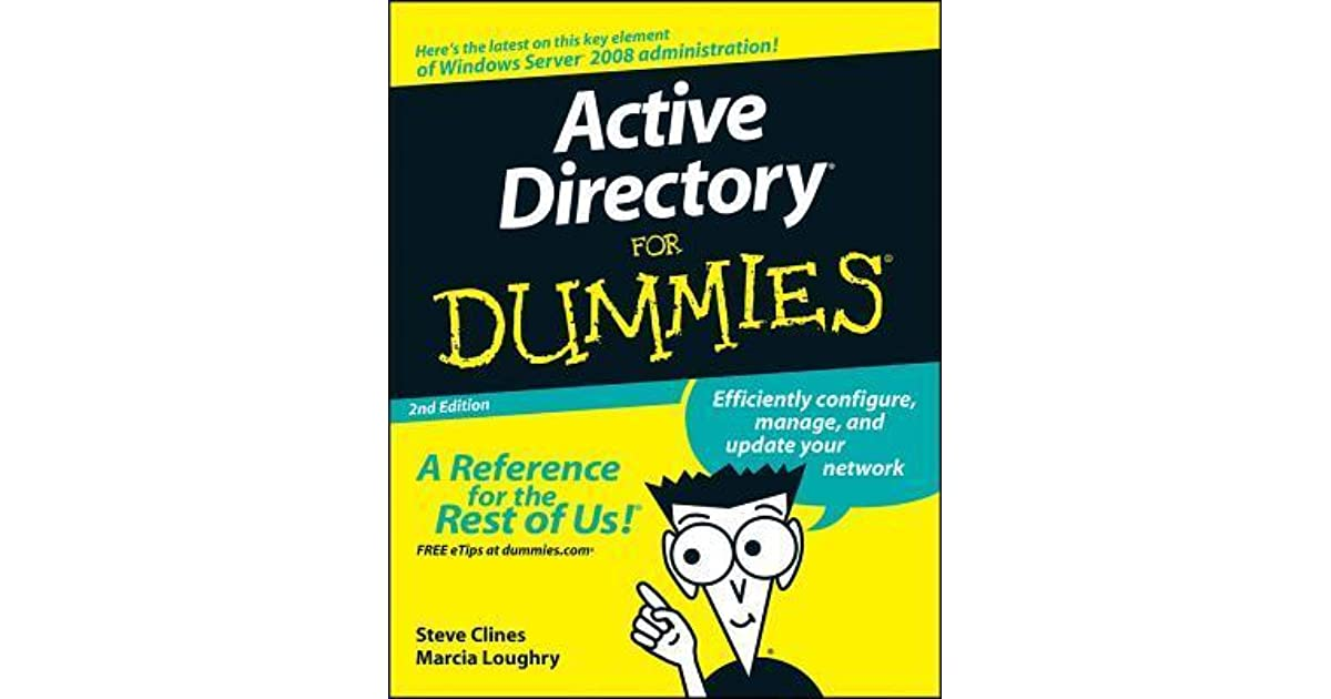 Active Directory For Dummies Cheat Sheet