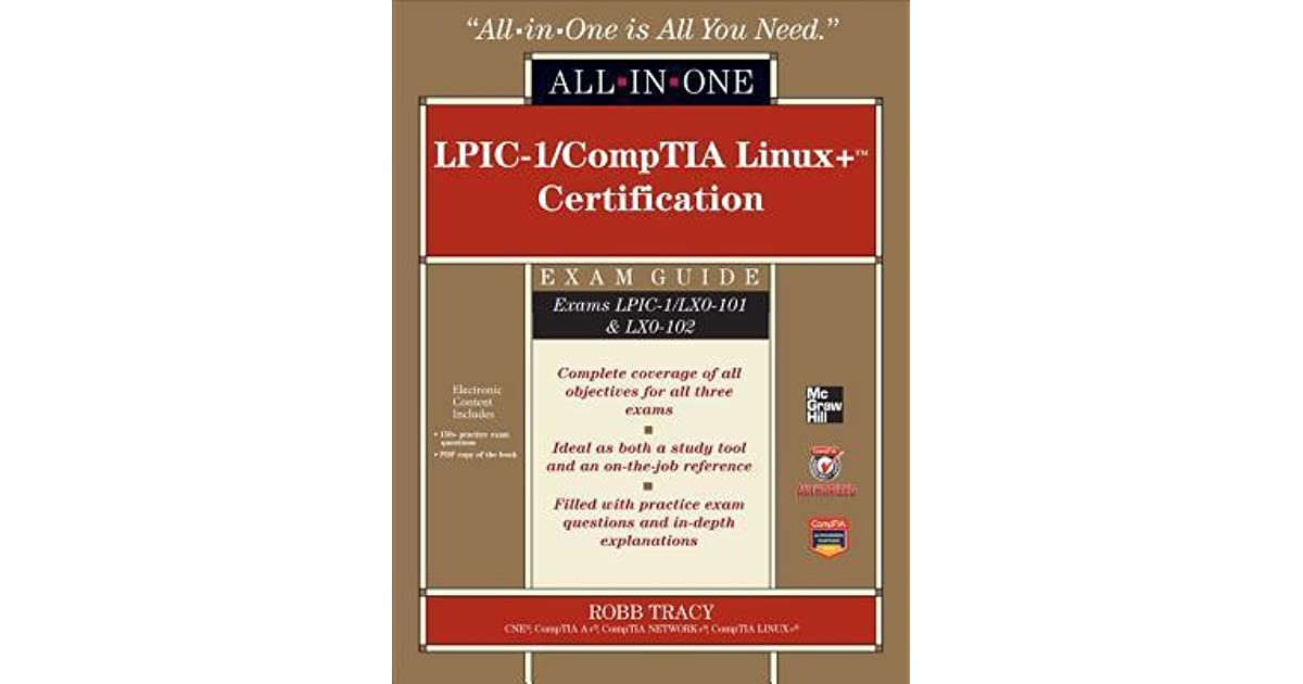 Comptia Linux+ Study Guide Exams Lx0-101 And Lx0-102 Pdf