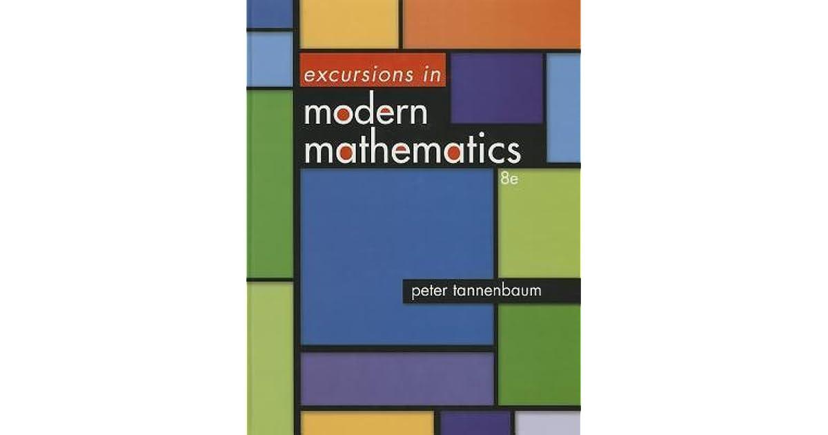 Excursions In Modern Mathematics 8th Edition Pdf
