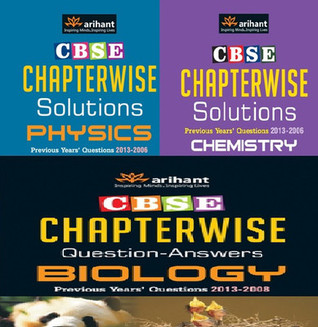 CBSE Chapterwise Question - Answers : Physics, Chemistry, Biology for Class 12 (Set of 3 Books)