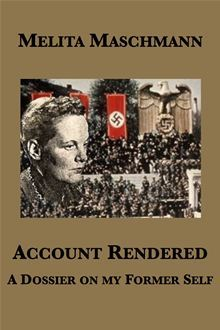 Account Rendered: a Dossier on my Former Self