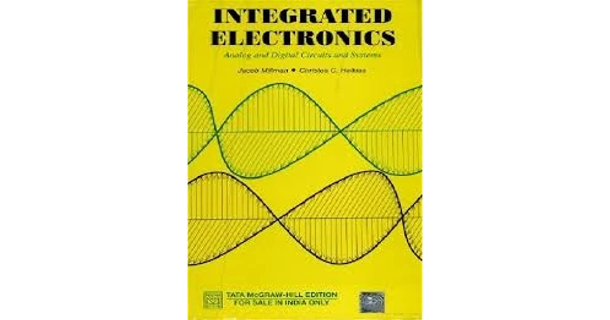 Integrated Electronics By Jacob Millman Pdf