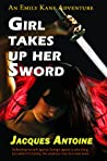 Girl Takes Up Her Sword by Jacques  Antoine
