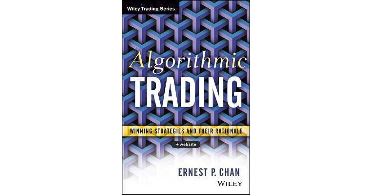 (PDF) Ernie Chan - Algorithmic Trading | Alec Huang - blogger.com