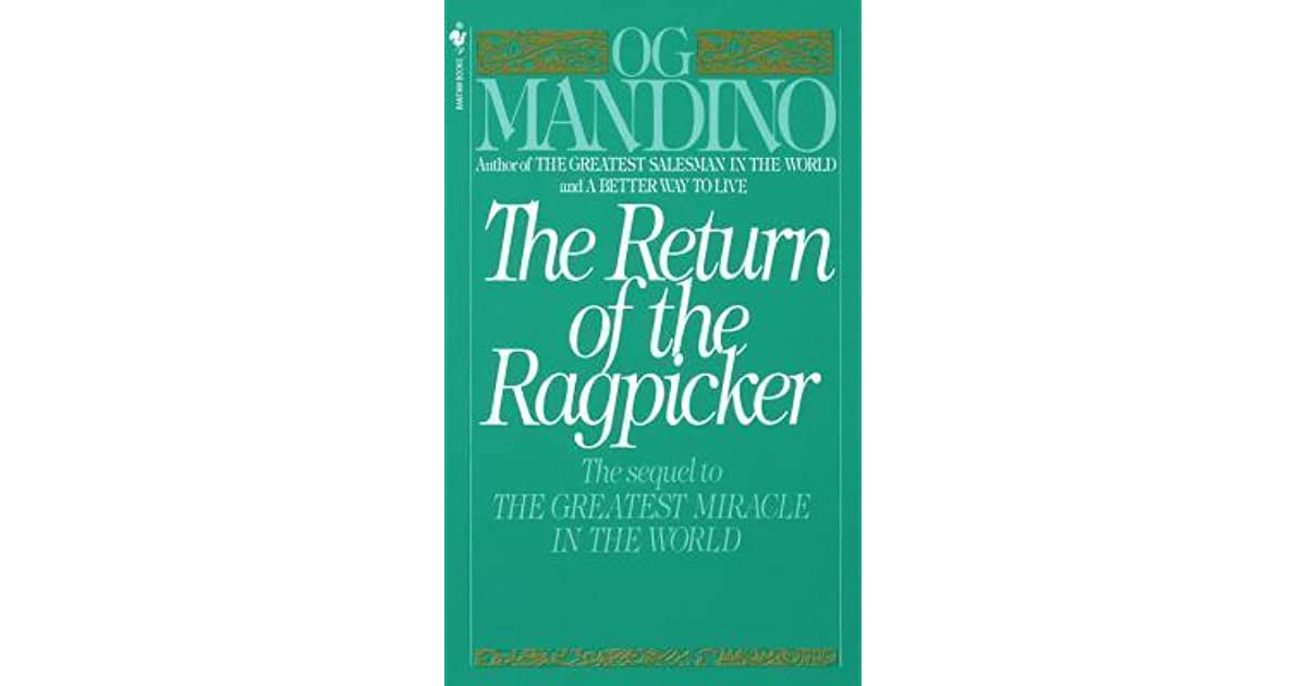 The Greatest Miracle In The World Og Mandino Pdf