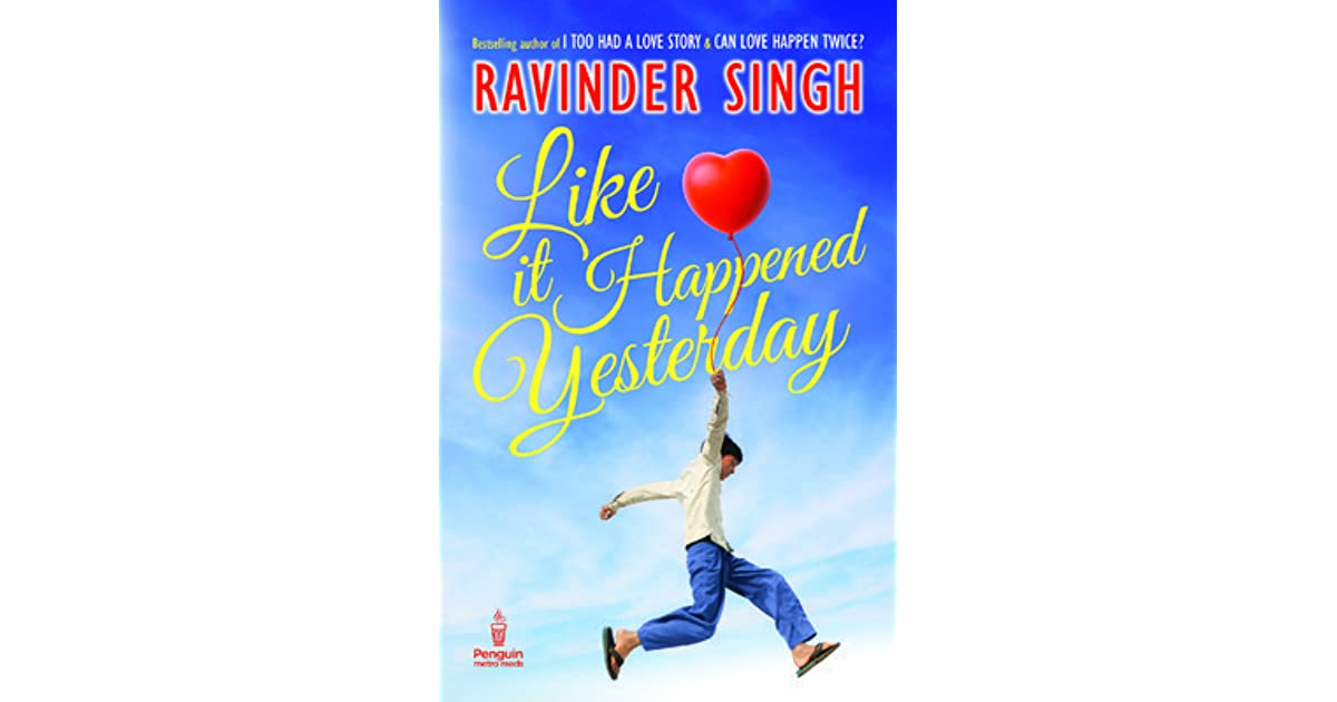 Ravinder Singh All Books Pdf