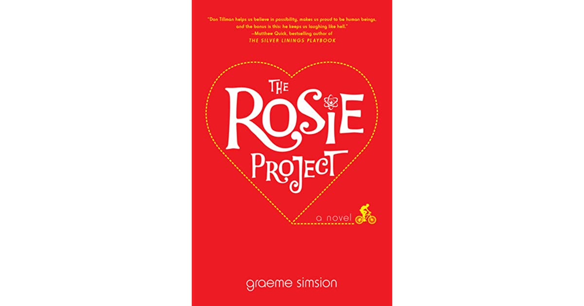 The Rosie Project Don Tillman 1 by Graeme Simsion