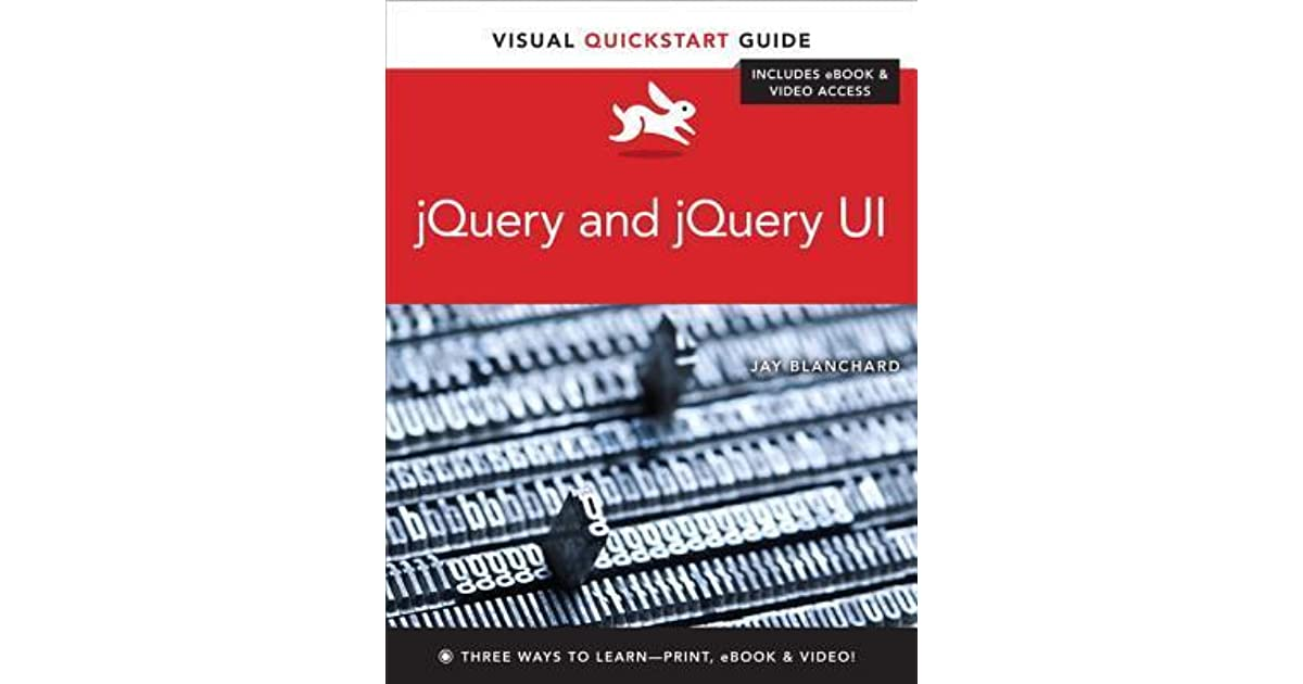 Buy jquery and jquery ui: visual quickstart guide book: jay.