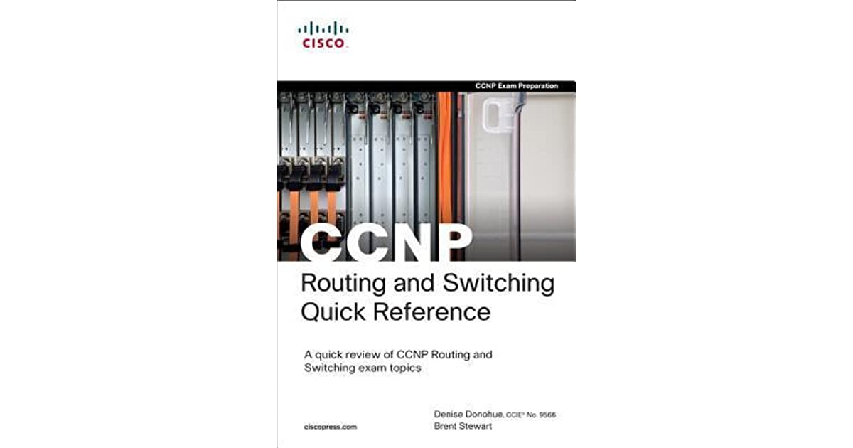 ccnp quick reference brent stewart