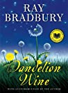 Book cover for Dandelion Wine (Green Town, #1)