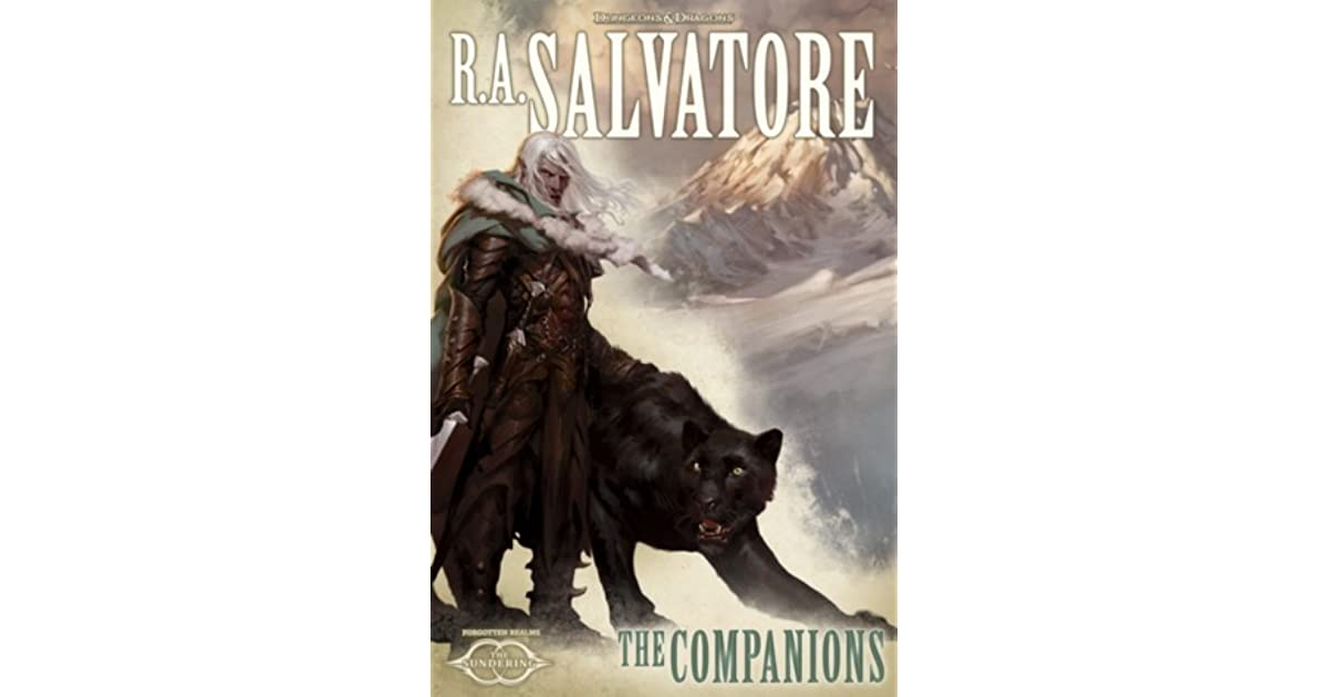 The Companions by R A  Salvatore