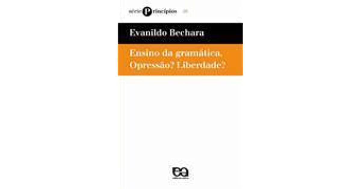 DOWNLOAD EVANILDO GRATUITO GRAMATICA BECHARA