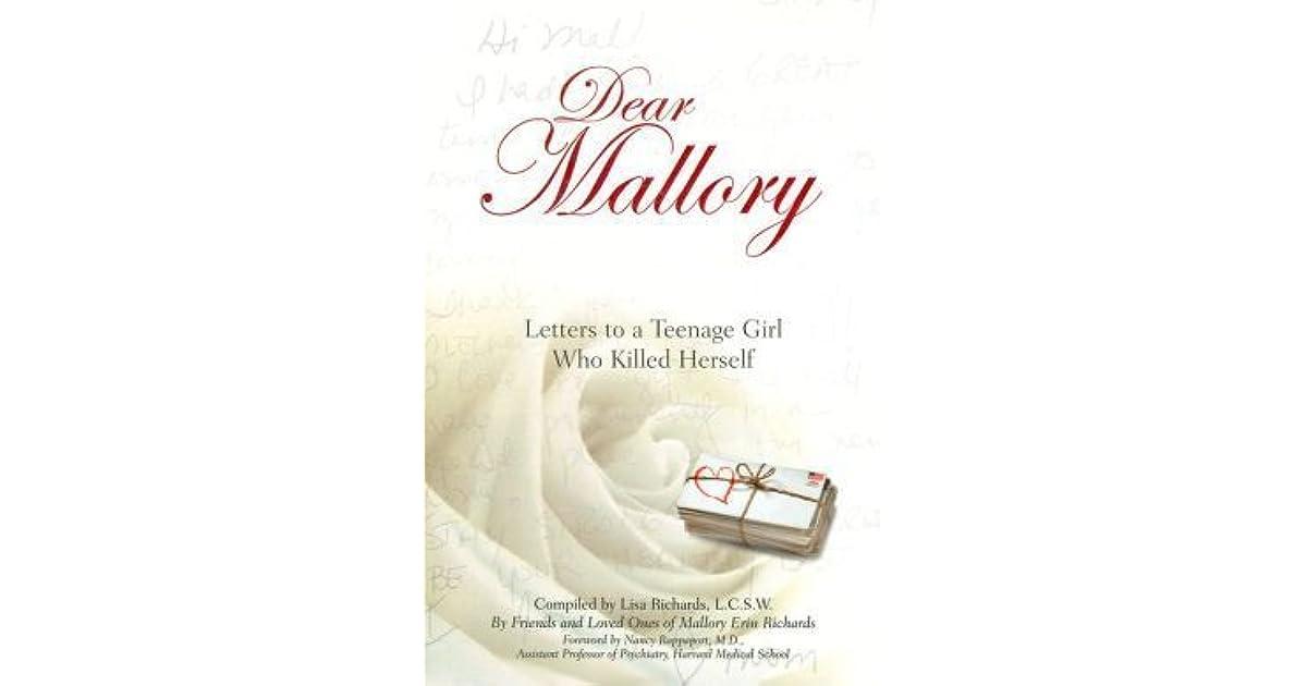 Kære Mallory breve til en teenagepige, der begik selvmord-9487