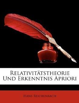 Relativitätstheorie und Erkenntnis Apriori
