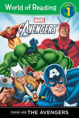 These are The Avengers Level 1 Reader by Thomas Macri