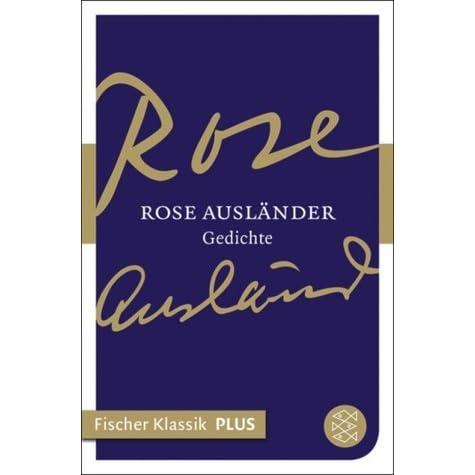 Rose Ausländer Gedichte By Rose Ausländer