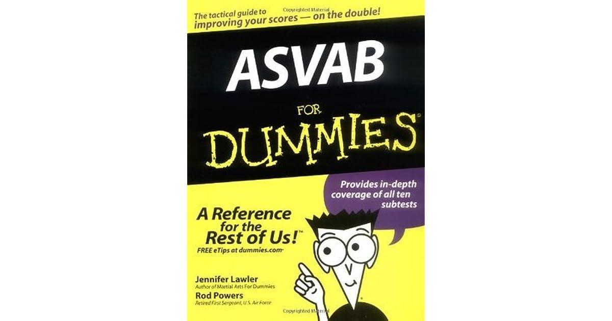 ASVAB For Dummies by Jennifer Lawler