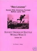 The Soviet Order of Battle World War II (Volume VIII):