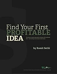 Find Your First Profitable Idea
