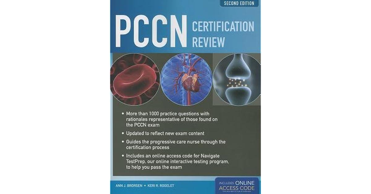 Pccn Certification Review By Ann J Brorsen