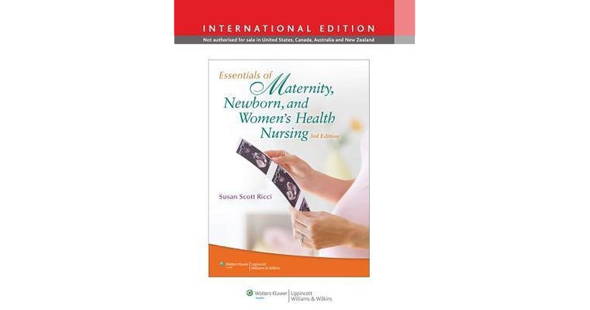 Canadian Maternity, Newborn, & Womens Health Nursing
