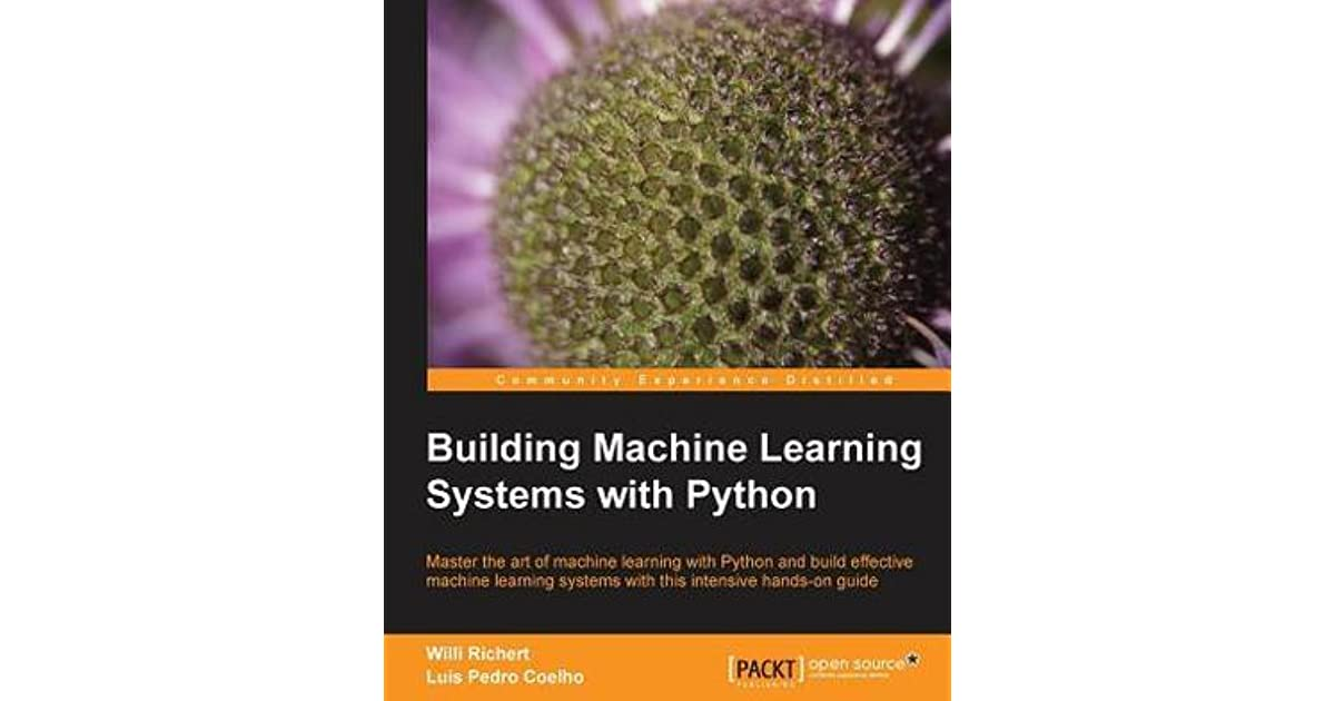 Download e-book Building Machine Learning Systems with Python