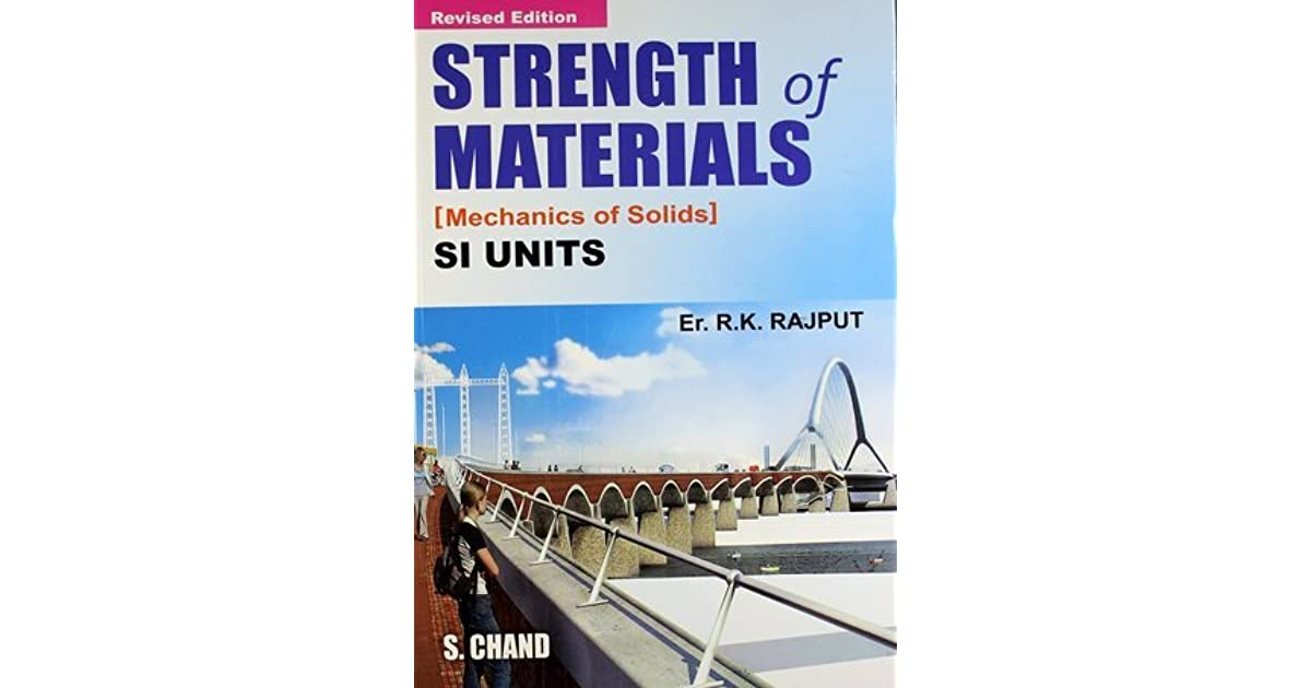 Strength of materials mechanics of solids by rk rajput fandeluxe Image collections