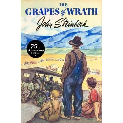 a literary analysis of depression in the grapes of wrath by john steinbeck Review ''the grapes of wrath'' literary analysis chapter of this john steinbeck wrote 'the grapes of wrath' using survive during the great depression.