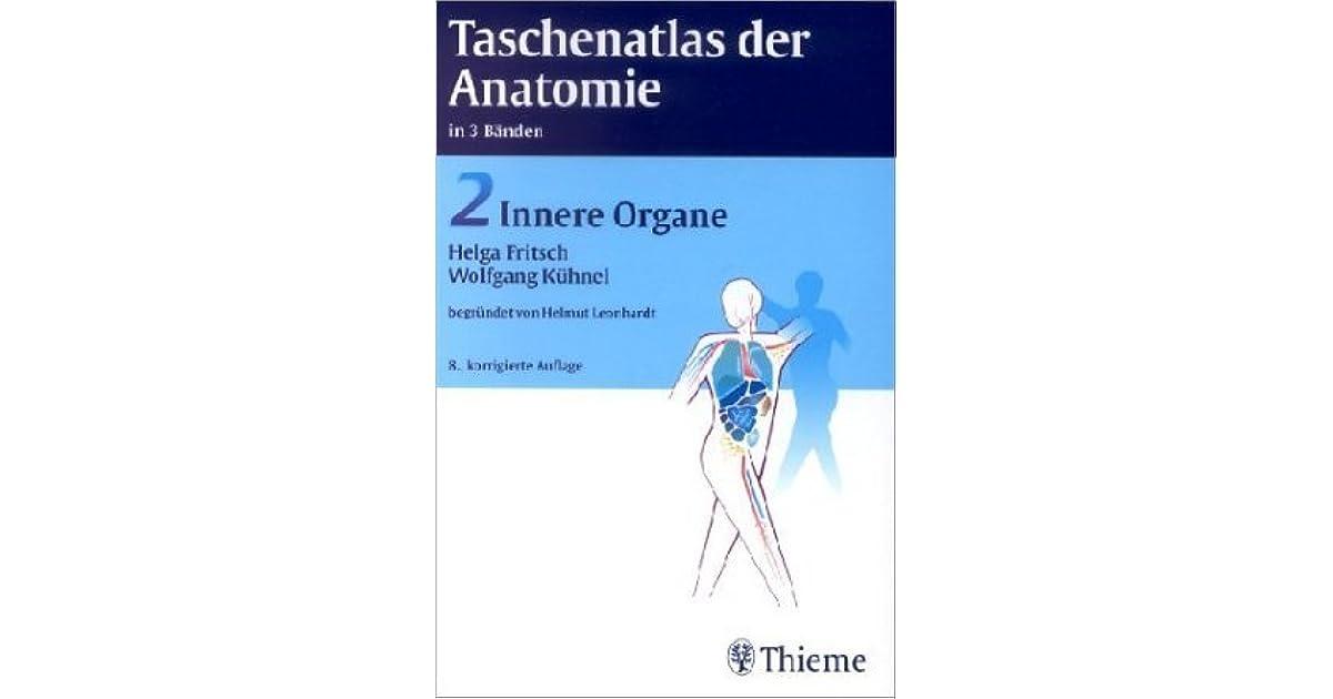 Taschenatlas der Anatomie 2. Innere Organe by Helga Fritsch