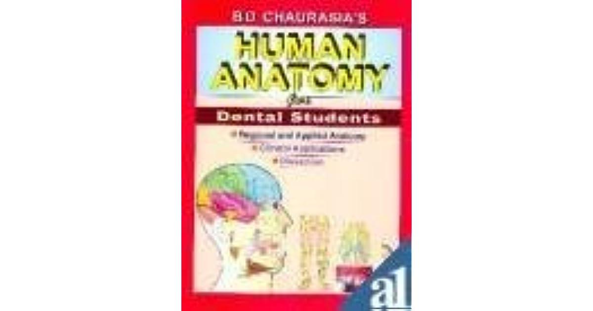 Human Anatomy For Dental Students: Regional And Applied Anatomy ...