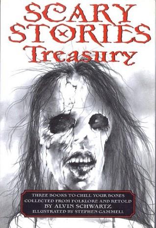 Scary Stories Treasury by Alvin Schwartz