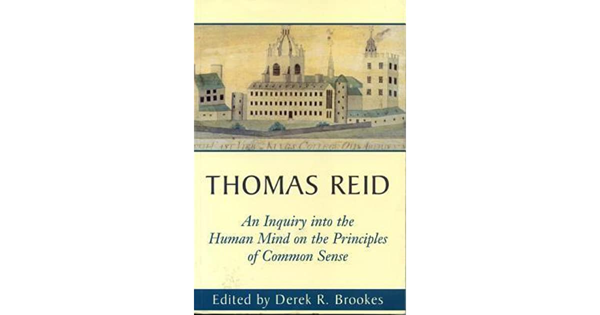 essays on the active powers of the human mind summary