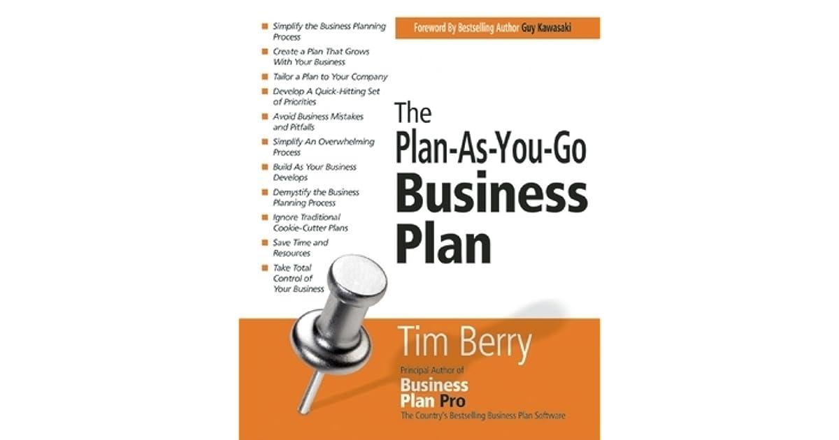 C H A P T E R   The Art of Writing a Business Plan