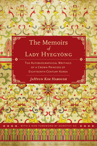 "Book cover of ""The Memoirs of Lady Hyegyong"""